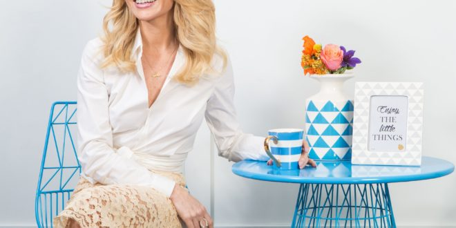 Amanda Holden launches debut homeware range with QVC