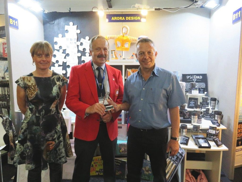 Giftware Supplier Arora Designs Won The Best Display Stand Award At Home Hardware S Autumn Trade Show Held Last Tuesday September 18 Silverstone In