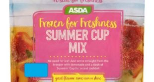 Asda housewares asda has launched a frozen version of the fruity cocktail pimms frozen for freshness summer cup mix contains frozen cucumber strawberries spiced orange negle Images