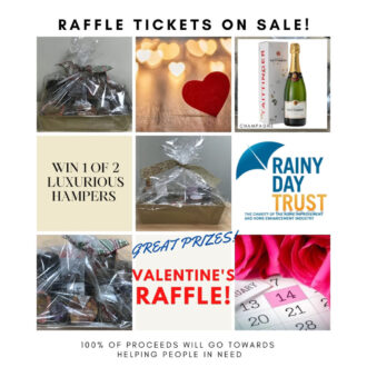 Bira Retail supports Rainy Day Trust with Valentine's raffle prizes
