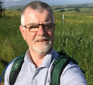 Bryan Glover completes his 84-mile non-stop charity hike in under 33 hours