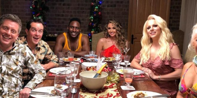 Celebrity Christmas Pics 2020 Stars confirmed for 'Come Dine With Me' celebrity Christmas