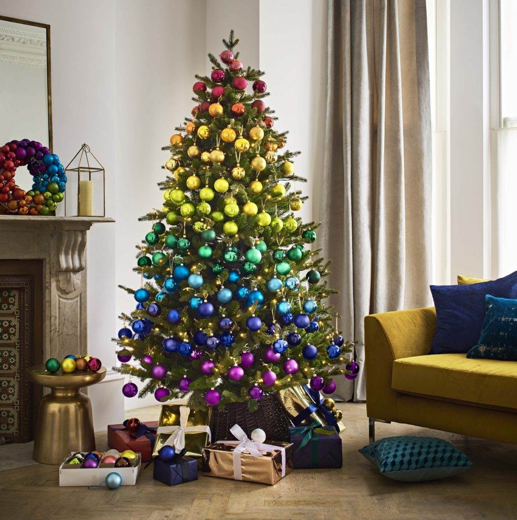 Rainbow Christmas Trees: John Lewis Predicts Rainbow Trend For Christmas