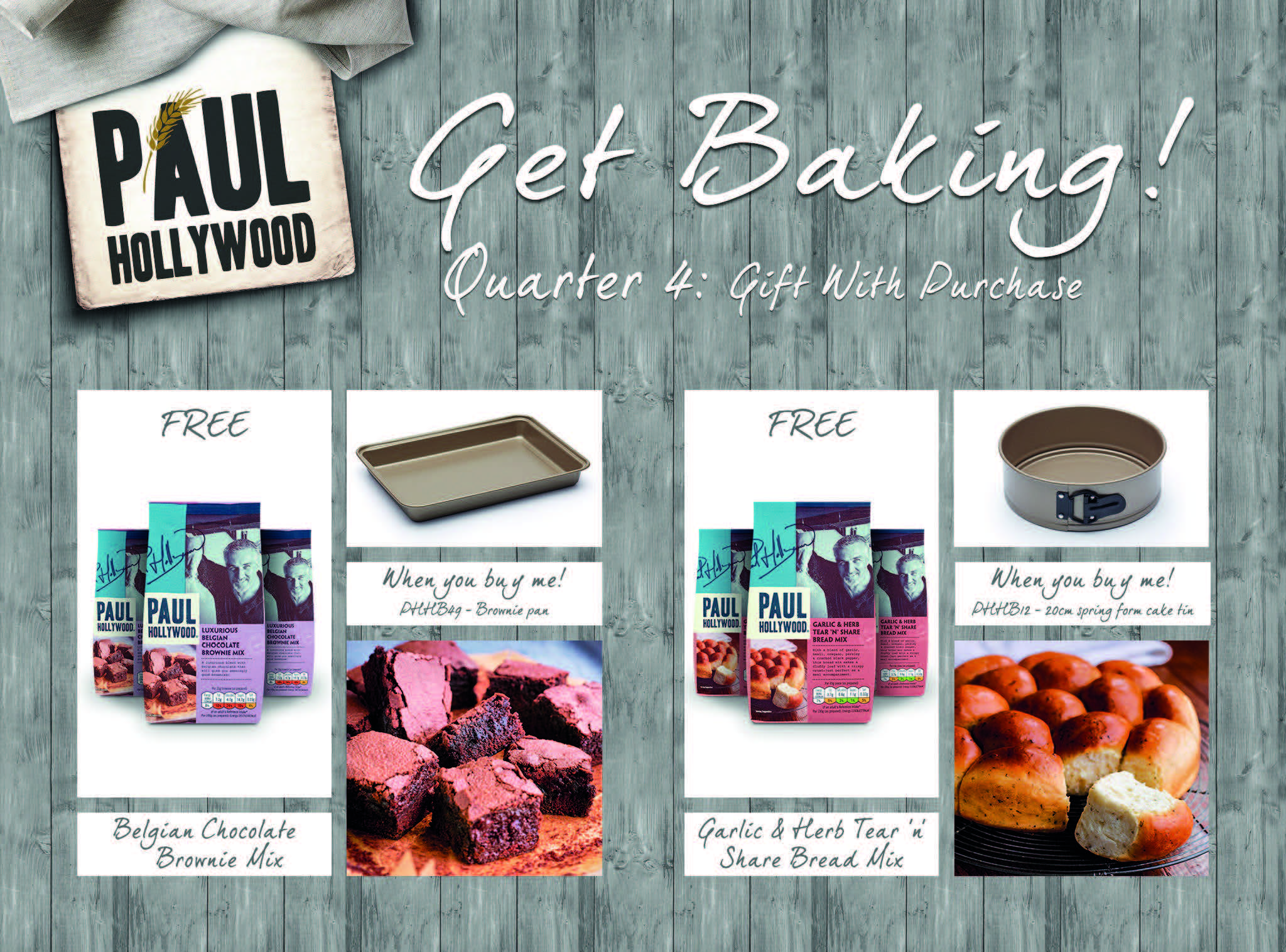 New Paul Hollywood initiative from Kitchen Craft – Housewares