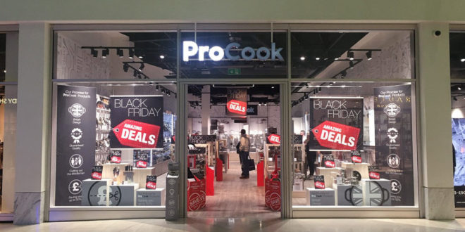 'Record-breaking' Black Friday period for ProCook