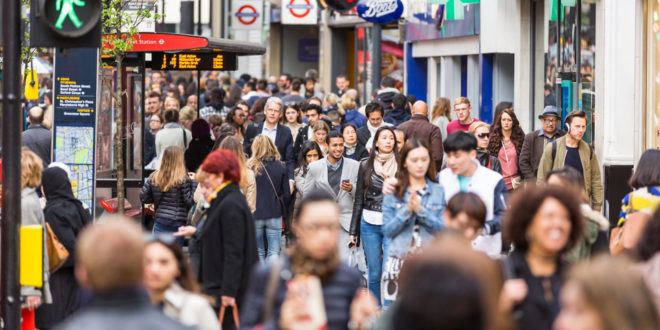 BRC-Springboard: fastest quarter of footfall growth for five years in April