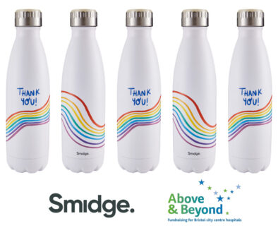 Smidge donates bottle to fundraising efforts