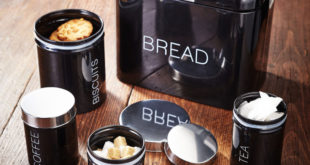 Judge 5-piece bread bin and canister set