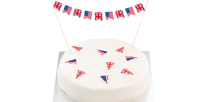 Patriotic shoppers stock up on classic British fare ahead of Royal Wedding