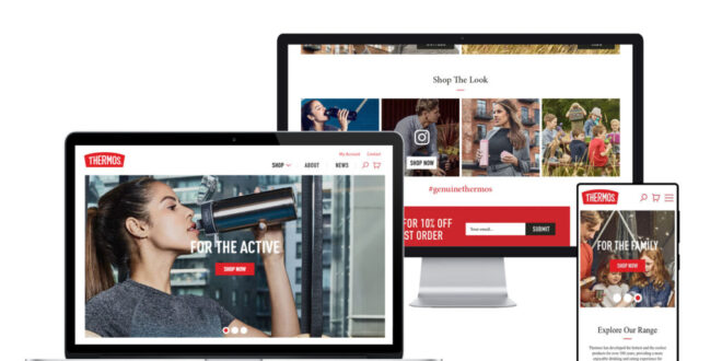 Thermos UK launches new ecommerce website