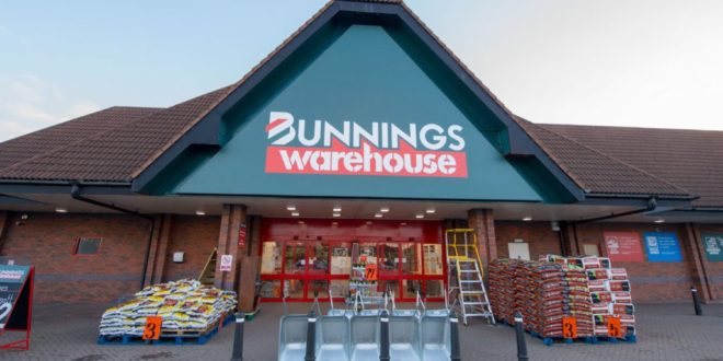 Bunnings Warehouse opens four stores in one day