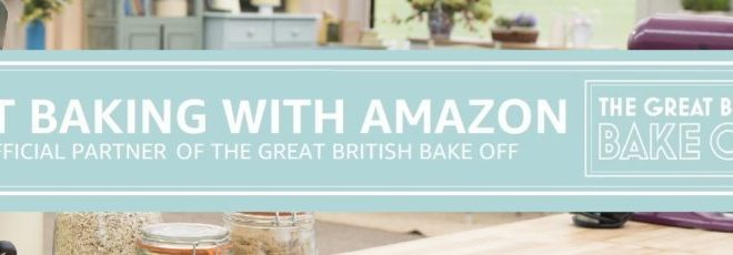 Amazon partners with Bake Off
