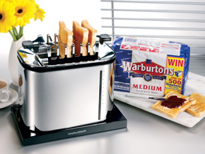Morphy Richards toaster in on-pack bread promo