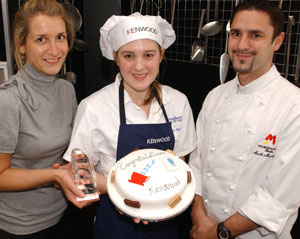 Young chef puts icing on the cake for Kenwood