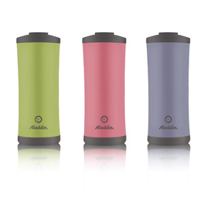 Aladdin drinkware is recycled and recyclable
