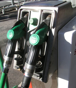 Fuel price hits regional shopper numbers
