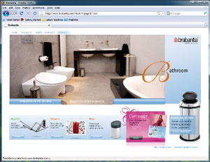 New Brabantia website benefits retailers and end users