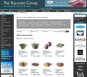 New Rayware website offers benefits for the trade