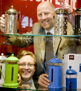 New salespeople for the La Cafetière team