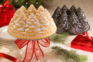 Nigella creates a run on Nordicware tree pan