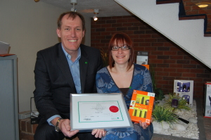 Amefa receives NSPCC recognition for donations