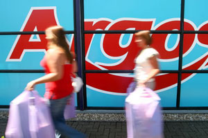 Argos sales slide as parent records a loss