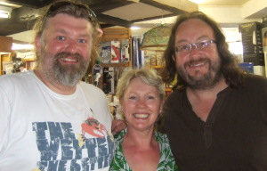 Staffordshire cookshop welcomes The Hairy Bikers