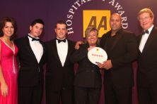 Villeroy & Boch presents awards to AA Rosette winners