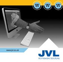 Updated JVL website benefits trade customers