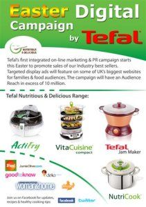 New Tefal online campaign will reach 10m