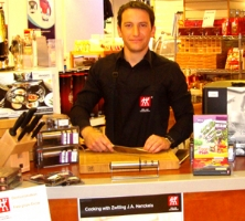 Zwilling demos boost skills and sales