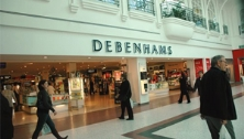 Snow impacts like-for-likes at Debenhams
