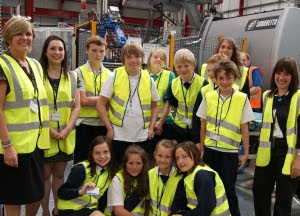 What More introduces pupils to manufacturing