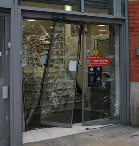 Riot help welcomed - but shops 'must contact insurers'