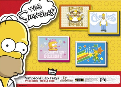 Simpsons Lap Trays