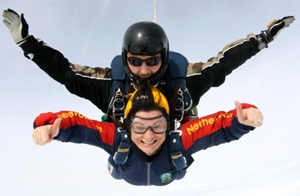 Sky's the limit for charity fund raisers