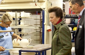 Denby bicentennial marked by Princess Royal visit