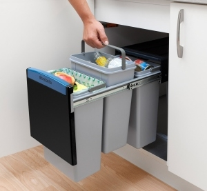 Brabantia's neat solution to separating waste