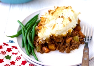 Shepherd's pie is the winter winner