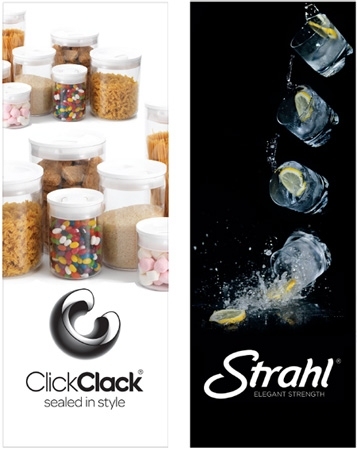 Virtually unbreakable drinkware and airtight storage containers from Click Clack