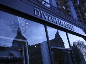 Divertimenti launches 'whispering' shop window in Knightsbridge