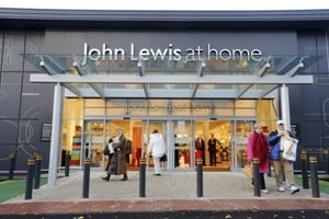John Lewis 'at home' stores excel in weekly sales rise