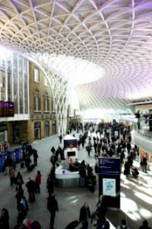 On the right track: station sales beat the high street