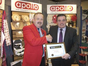 Apollo Housewares wins accolade at Home Hardware trade show