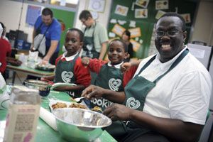 Charity helps children and adults get cooking