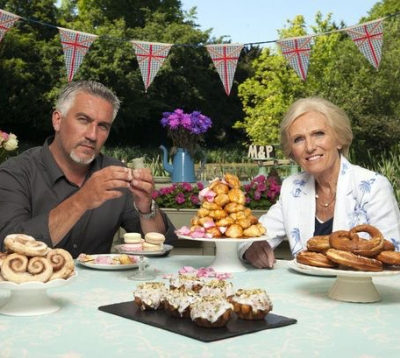 The Great British Bake Off is back on the box