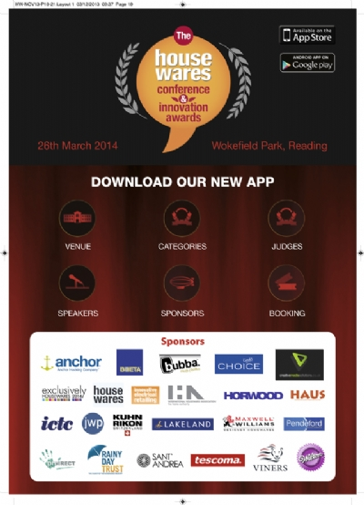 App launched for The Housewares Conference 2014