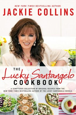 Jackie Collins launches cookbook