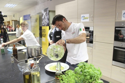 Gino D'Acampo brings a taste of Italy to Somerset