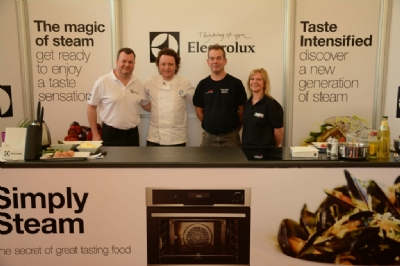Tom Kitchin gets steamy at sell-out event in-store